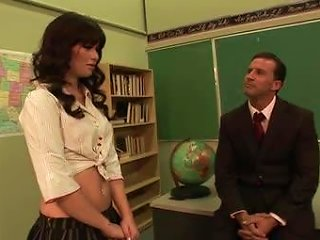 After School Pussy Pounding With Ashlyn Rae And Her Horny Teacher