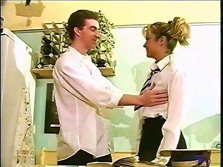 Claire Gets Fucked In School Uniform